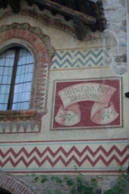 Albergo del Biscione a Grazzano Visconti