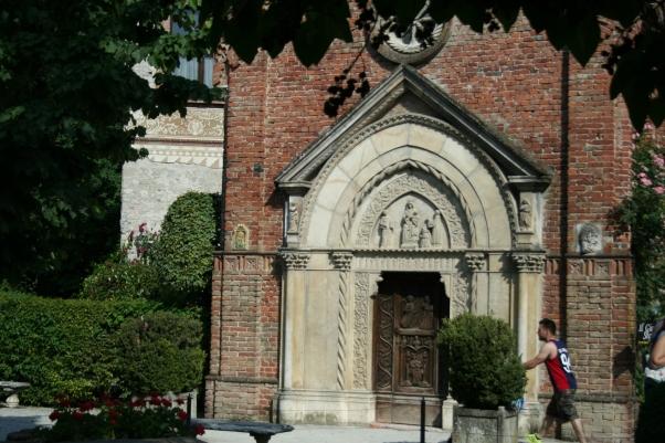 Porta Chiesa di Grazzano Visconti