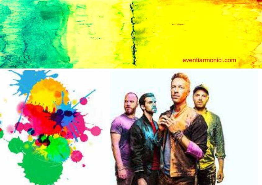eventiarmonici.com: Coldplay e i loro colori