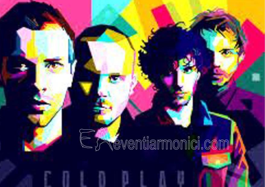 eventiarmonici.com: Coldplay evidenza