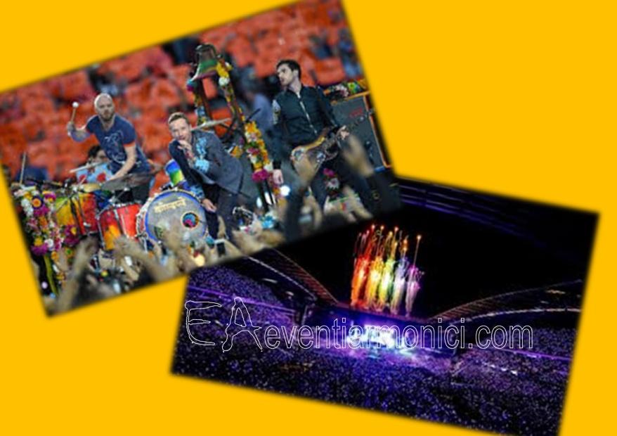 eventiarmonici.com: Coldplay live