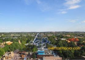 Parco di Gardaland vista aerea
