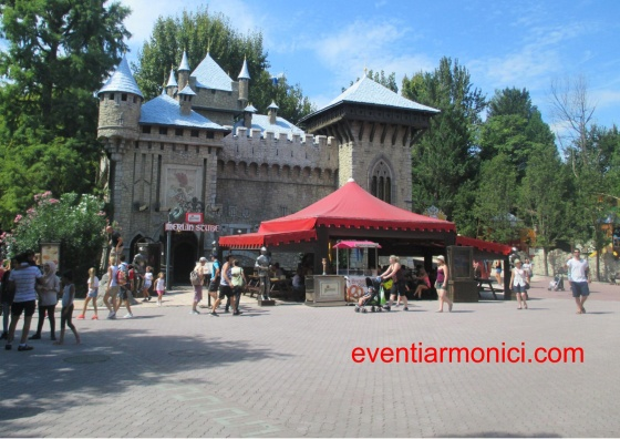 Gardaland castello di Merlino