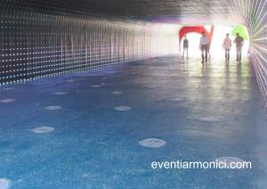 Gardaland tunnel luminoso