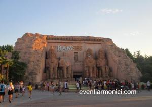 Ramses al Parco di Gardaland