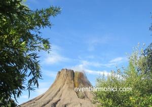 Gardaland vulcano