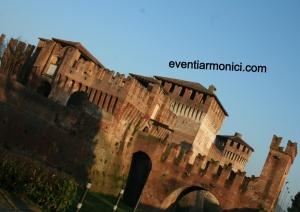 Rocca Soncino al tramonto