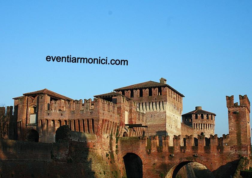 Rocca Soncino sera