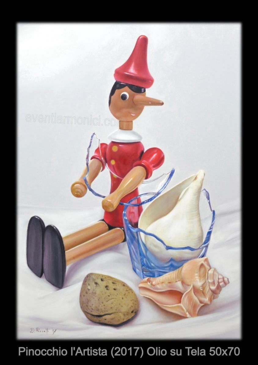 pinocchio l'artista - damiano pizzetti