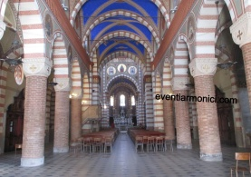 Soncino interno chiesa della Pieve