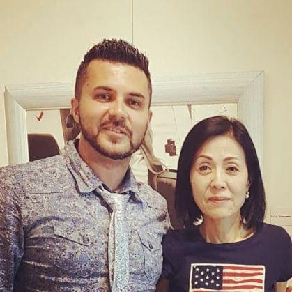Pasquale Di Matteo con Chie Yoshioka