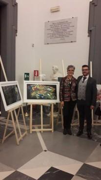con Cinzia Morini
