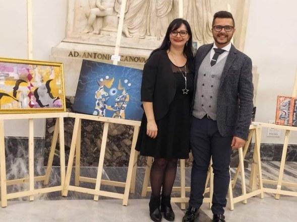 con Francesca Ghidini