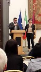 con Gina Fortunato
