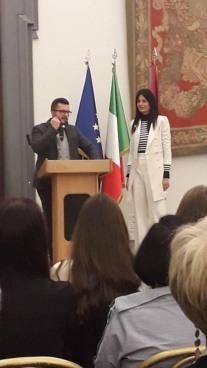 con Simona Veronica Verzichelli