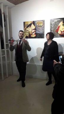 Il Critico d'Arte, Pasquale Di Matteo presenta Carla Bertoli
