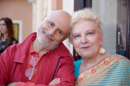 Anna Maria Brazzò con Pierfrancesco Campanella