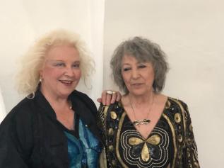 Maralba Focone con Anna Maria Brazzò