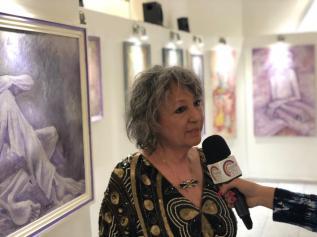 Maralba Focone intervistata a Roma