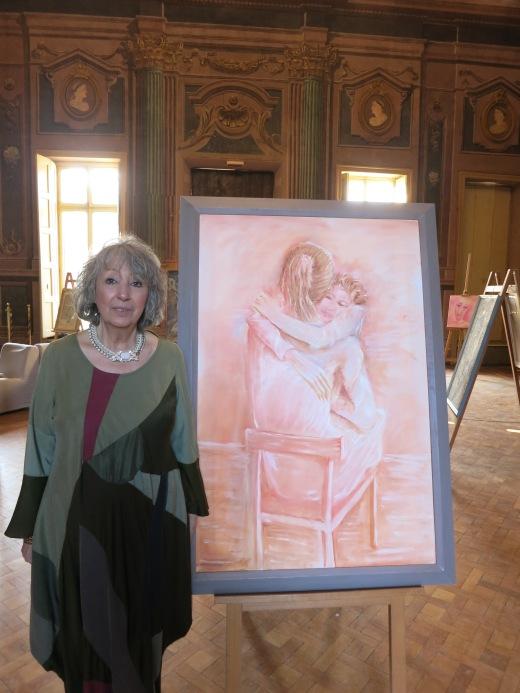 Maralba Focone in mostra personale presso Villa Amoretti Torino